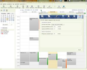 La schermata integrata, è possibile vedere i pulsanti per tornare alle mail